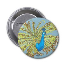 Peacock Button
