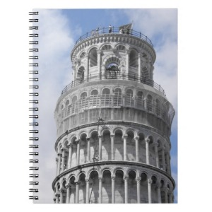 Pisa Notebook Journal Zazzle