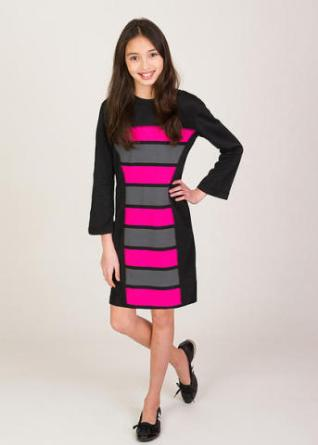 id_clothing_black_and_pink_dress