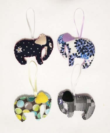 ornament elephants