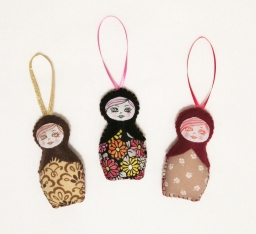 ornament matryoshka grp