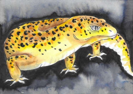 inkwash gecko