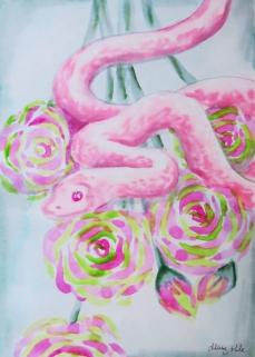 inkwash snake